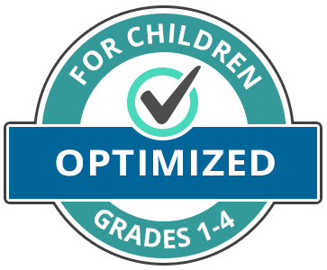 Badge: Optimized for Children Grades 1-4